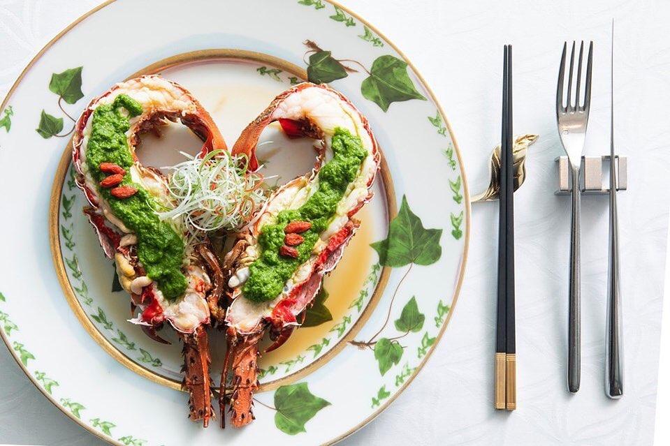 經典主菜心型龍蝦,送上桌絕對吸睛!