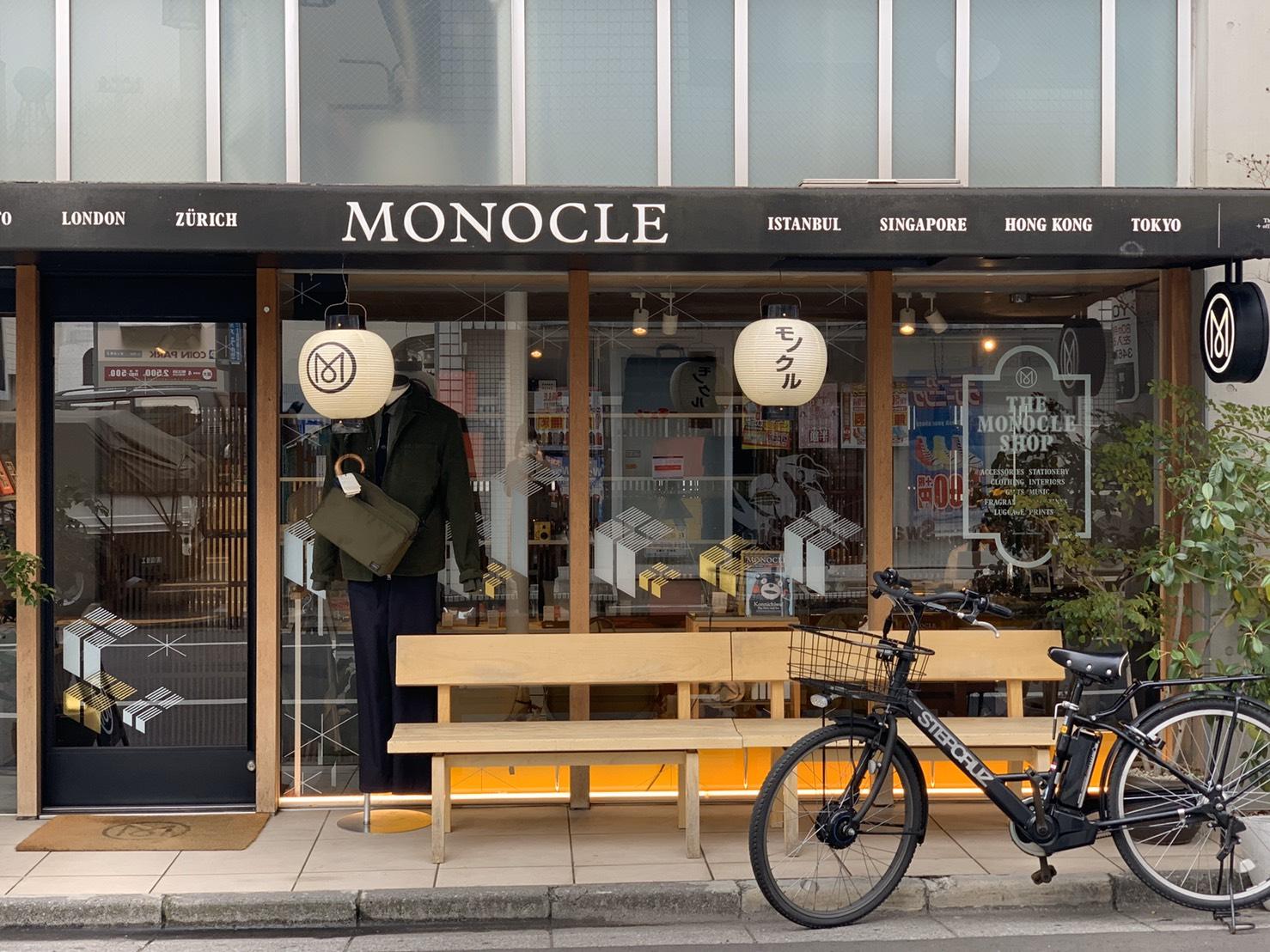 Monocle選物店也選在奧涉谷區域