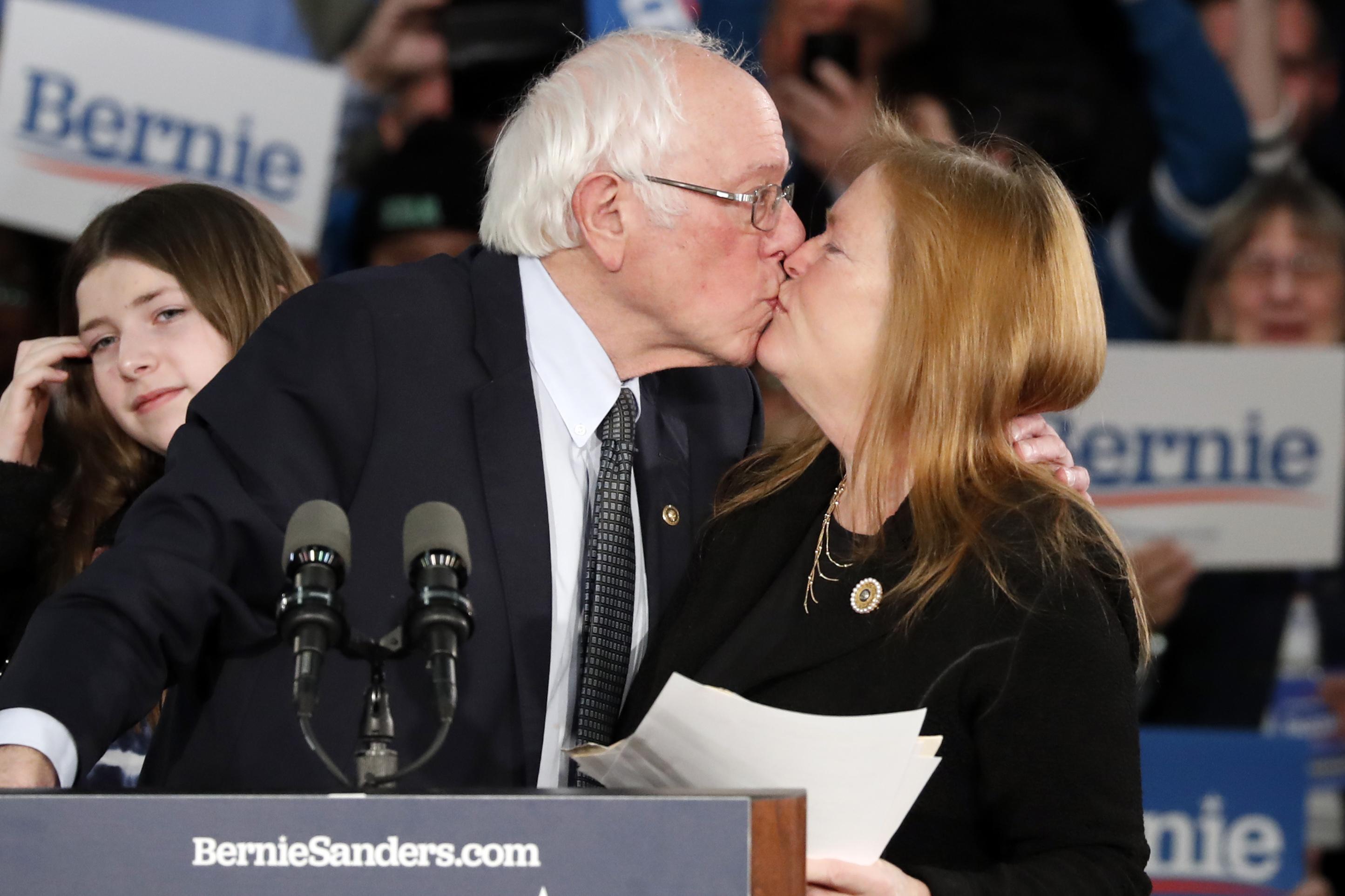 Bernie Sanders and Jane O'Meara Sanders