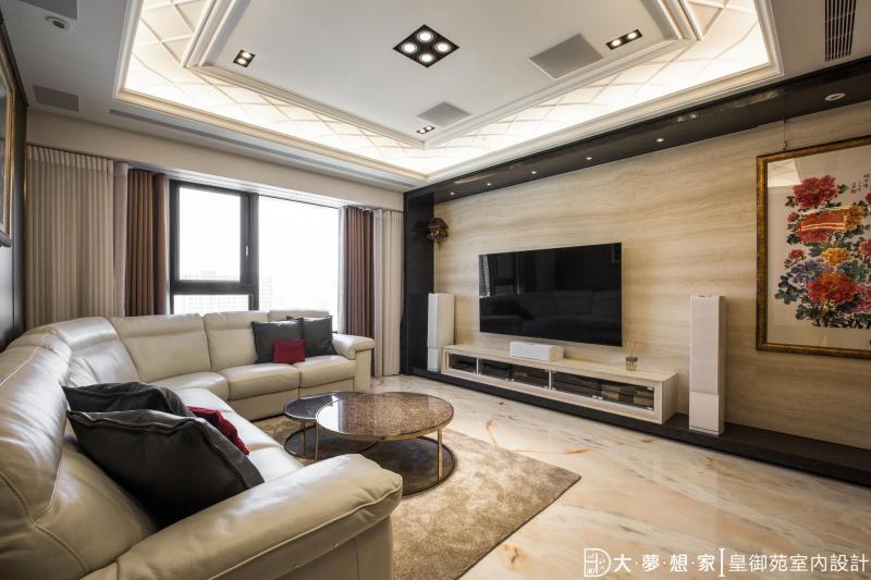 皇御苑室內設計陳誼騏設計師授權提供/大夢想家