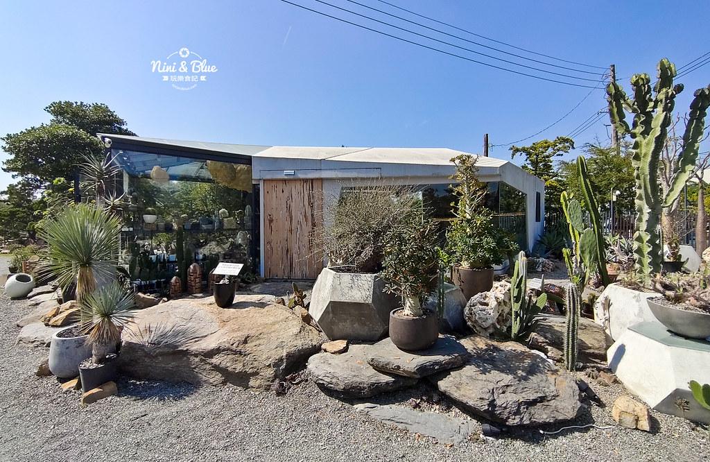 酉Succulent & Artwork是田尾高人氣景點,幾何清水模建築十分搶眼。圖/駐站達人-NINI AND BLUE玩樂食記