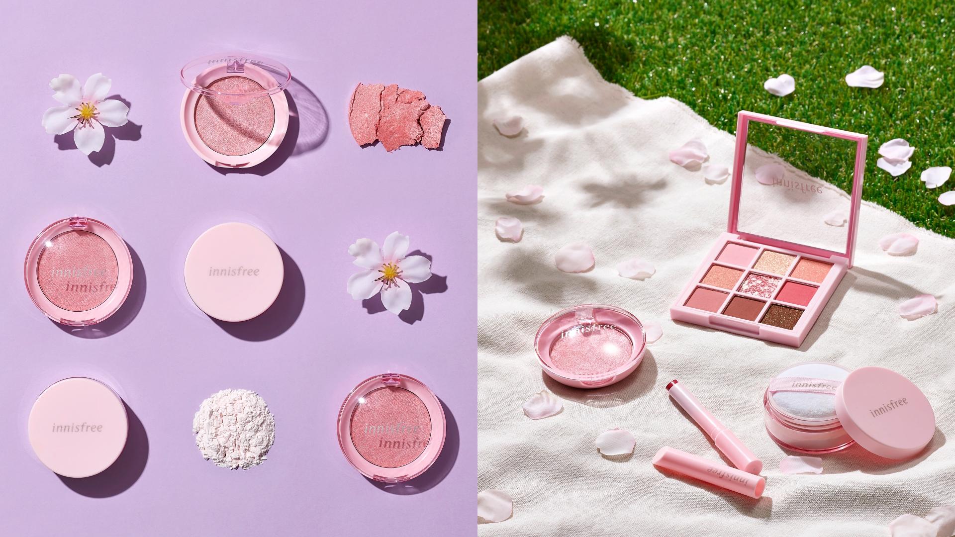 充滿春天感的櫻花系列顏色超粉嫩!