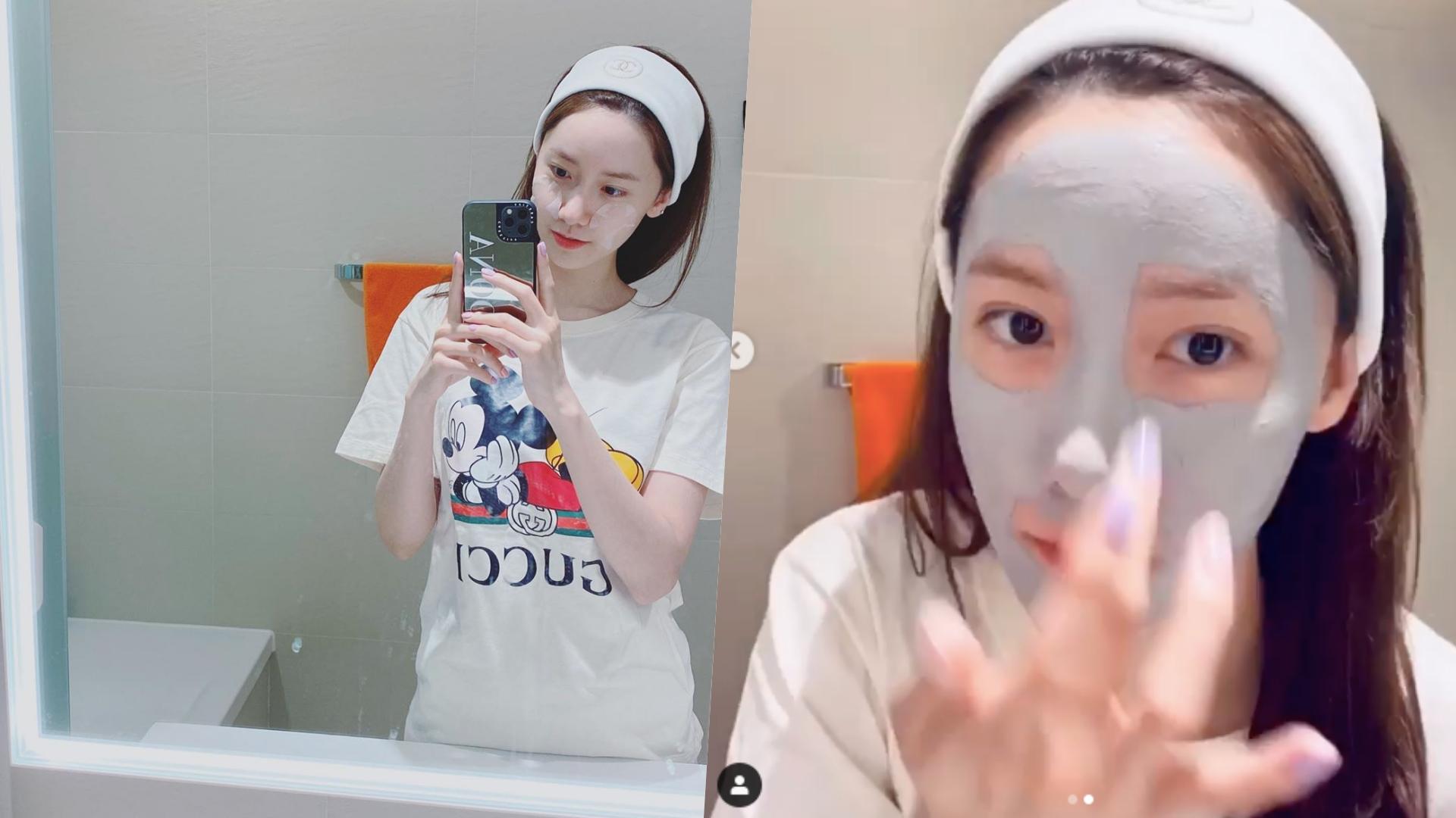 潤娥公開自己的素顏照,水嫩膚質令人羨慕!