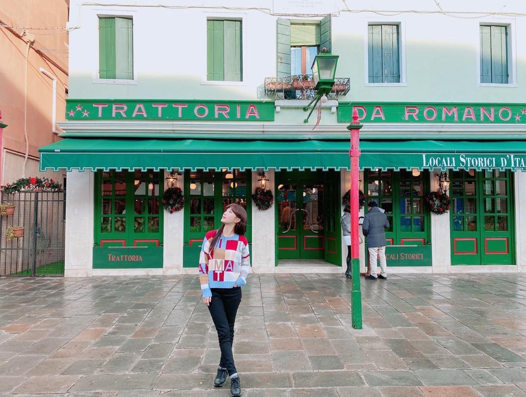 ▲陳瑀希日前帶著媽媽去義大利旅遊。