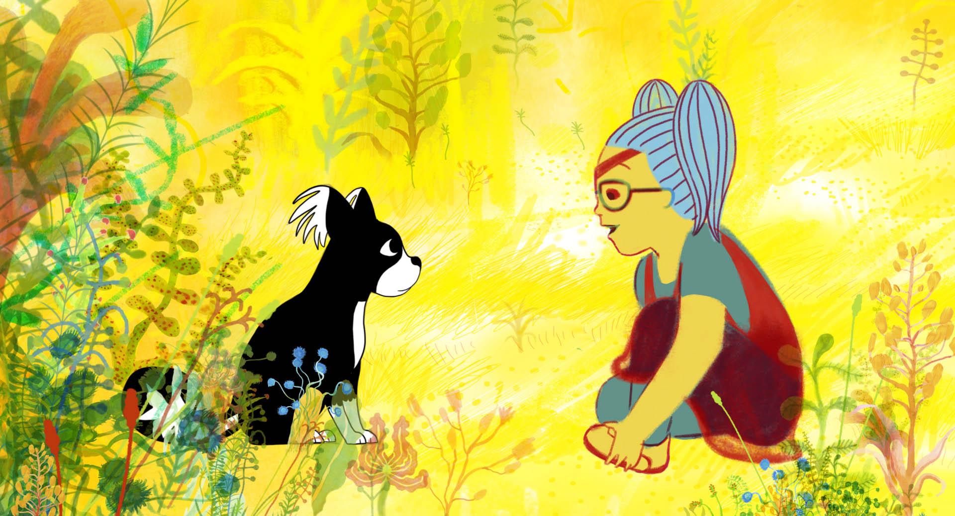 電影畫風則是攜手時尚品牌LV力邀合作的比利時新銳漫畫家—布雷希特艾文斯,利用活潑的線條搭配鮮豔的色彩,跳脫以往的框架呈現