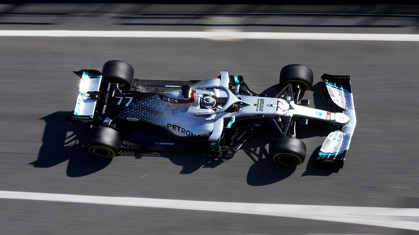 第一次季前集測最終日Mercedes展現氣勢