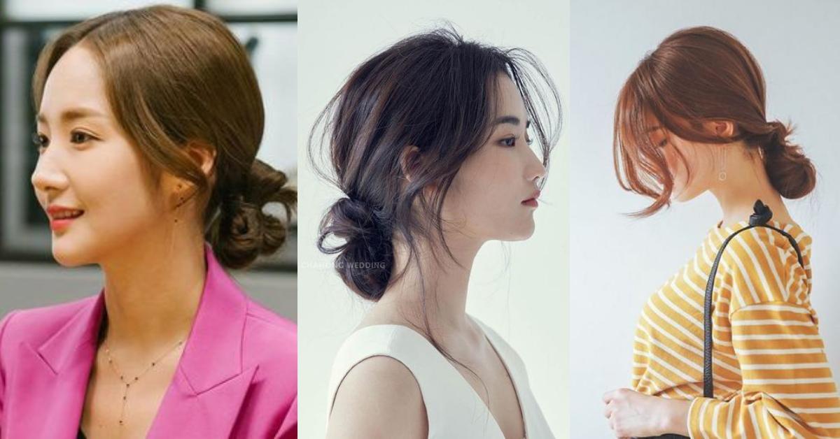 近幾年由於韓劇、日劇風潮,優雅的秘書系低髮髻默默成為男人們眼中最有女人味的髮型之一!