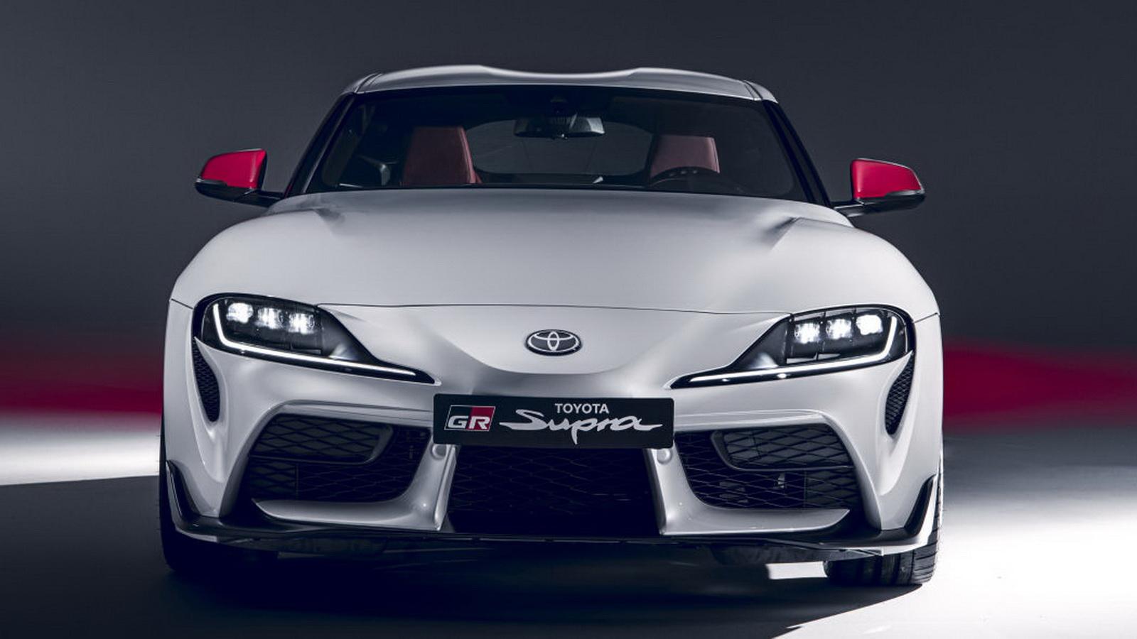圖/2020年Toyota GR Supra整體造型與2019年車型一致,車身比例為最適合操控的50:50「黃金比例」。