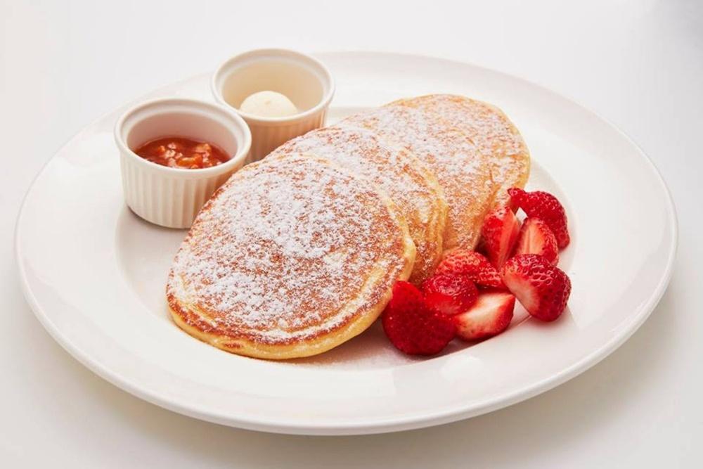 美式圓鬆餅為美國人餐桌最常見的早午餐之一。