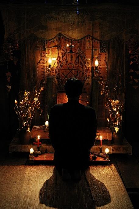 古曼童祭祀之祭壇
