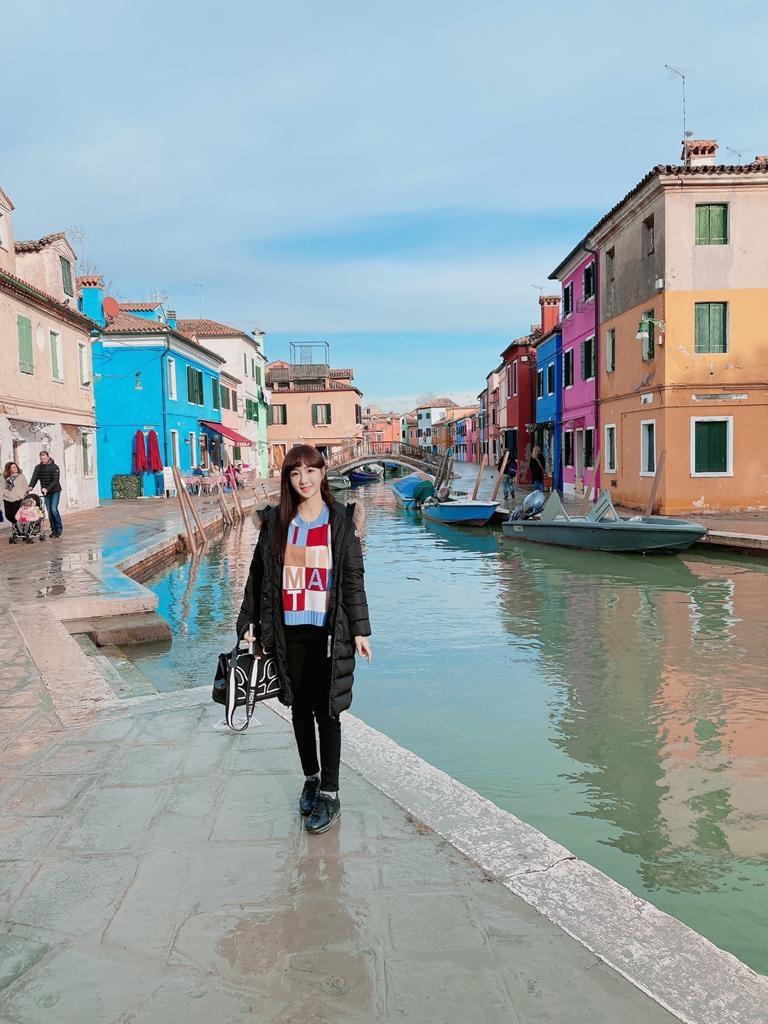 ▲威尼斯到哪都要坐船,讓陳瑀希留下特別的經驗。
