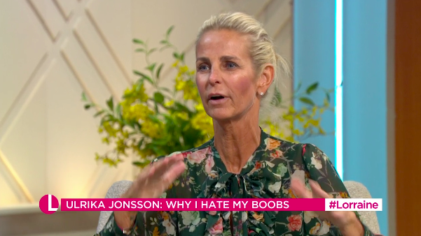 Ulrika Jonsson defended her online rant about her body (ITV)