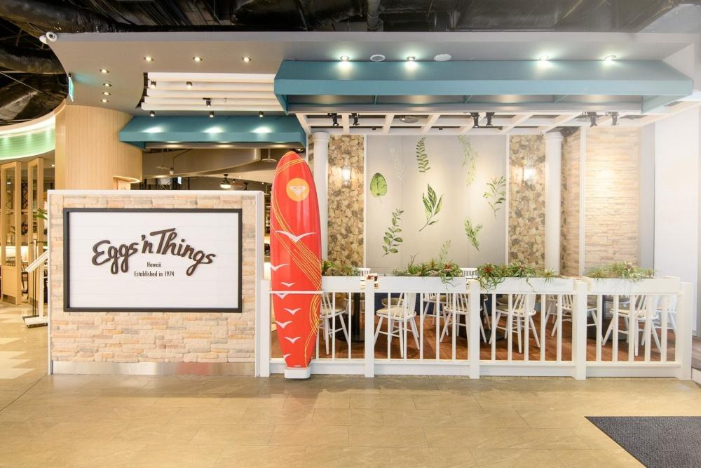 Eggs 'n Things的首間台灣分店,選擇落腳信義區微風松高。