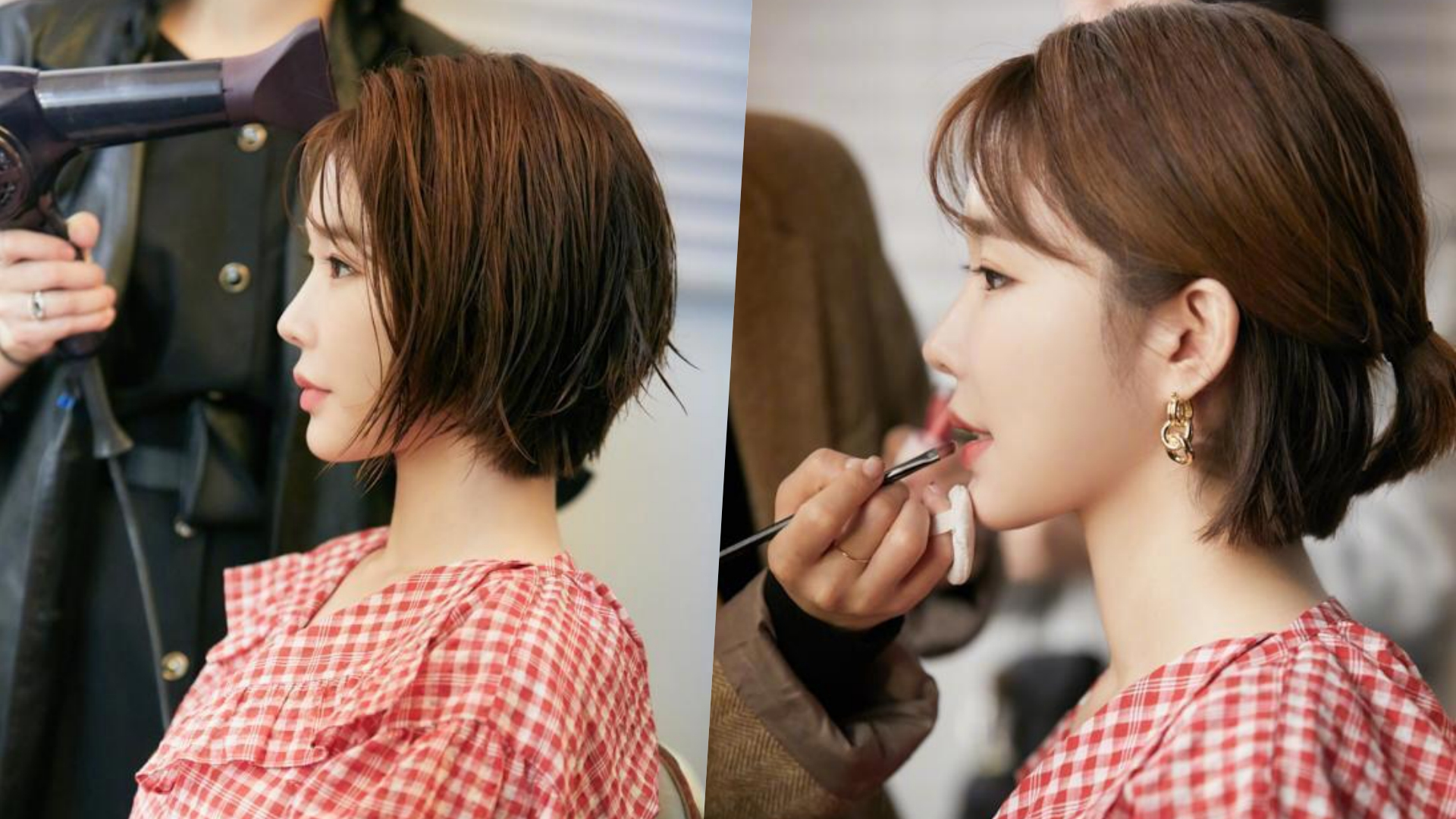 刘寅娜10年来首度剪短发全网暴动!2020韩星发型趋势不动刀也能有整型级小脸效果!