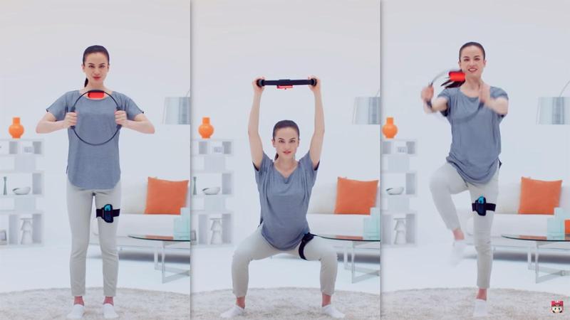 從深蹲到抬腿,健身環大冒險讓你邊遊戲邊運動!