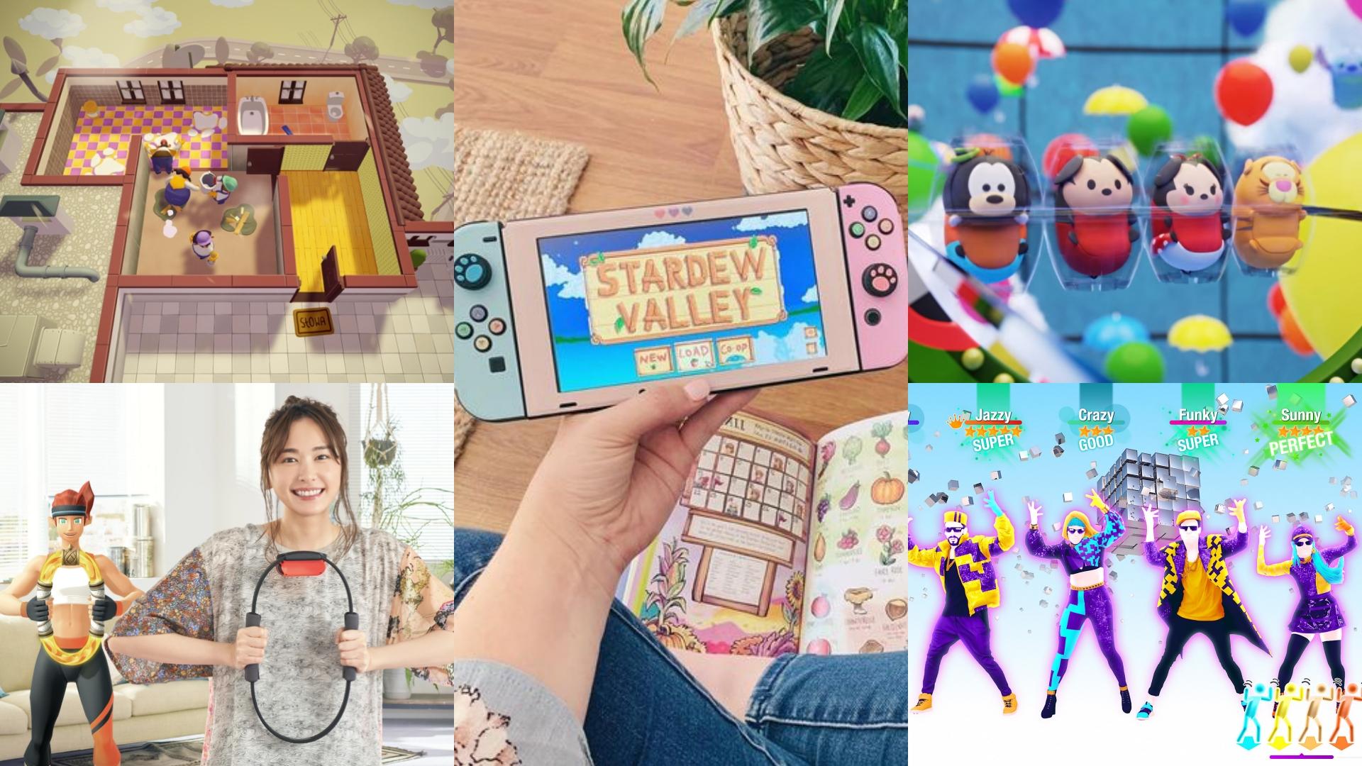 Switch的遊戲不停推陳出新,每一款都太好玩!