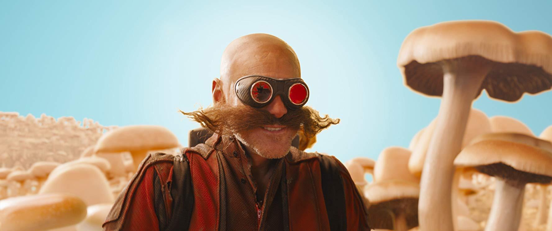 金凱瑞飾演的蛋頭博士。(圖/《音速小子》劇照)