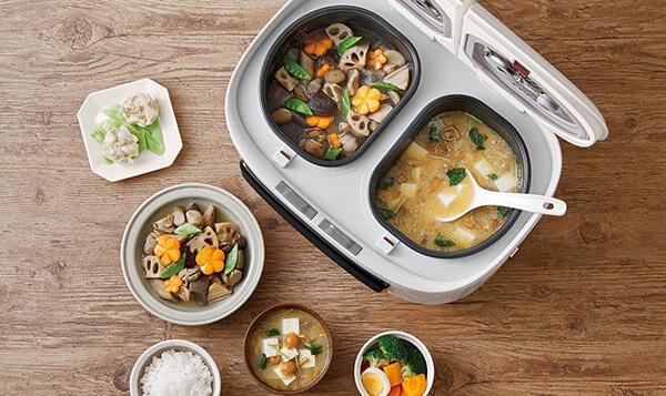 ツインシェフ(Twin Chef)自動調理鍋,搭載10種烹煮功能
