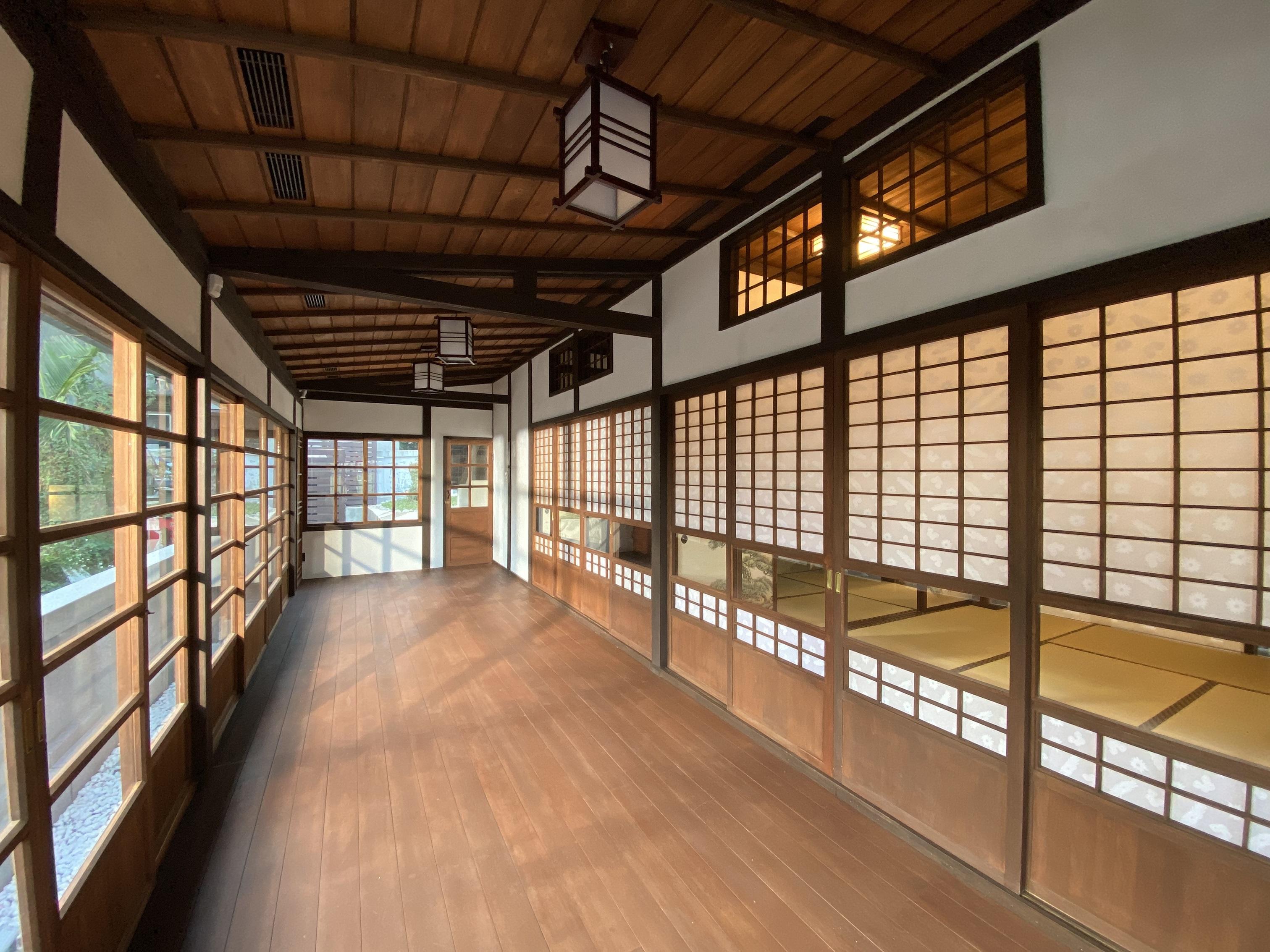淡水日本警官宿舍(圖片來源:新北市立淡水古蹟博物館)