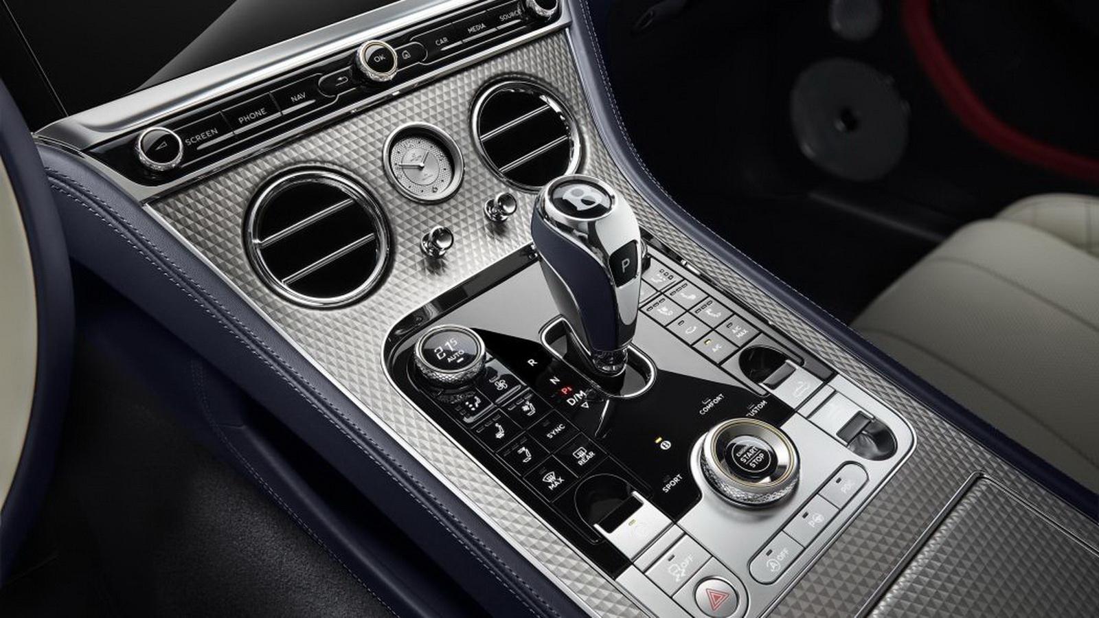 圖/Bentley Continental GT Mulliner Convertible在座位與車門的內飾細節導入「鑽中鑽」縫製技術,整個縫製過程長達18個月。