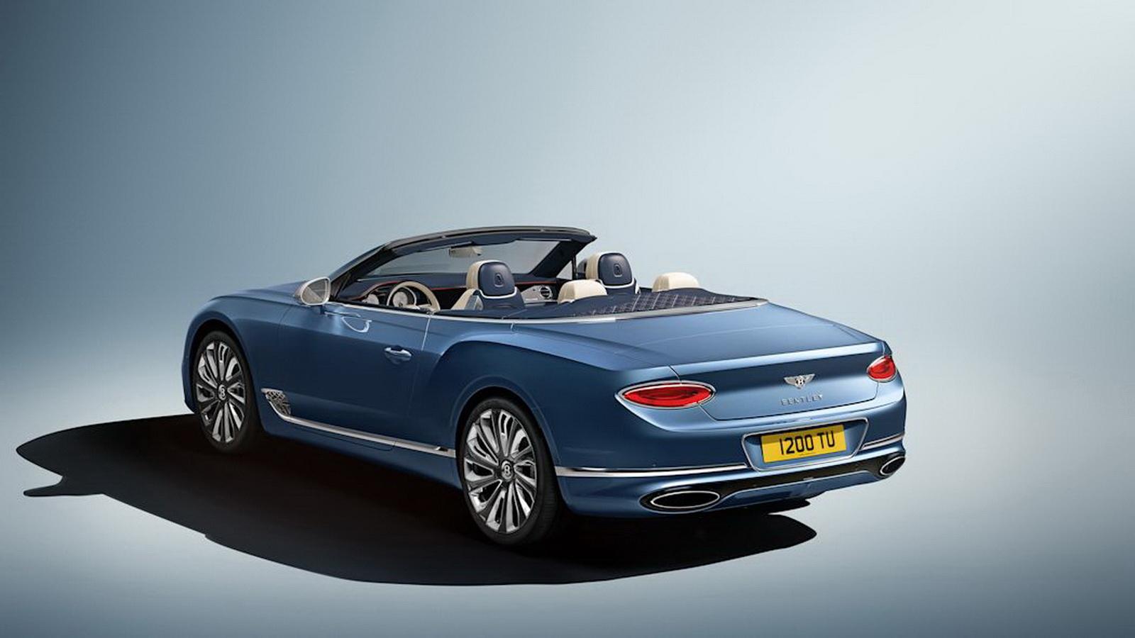 圖/英國豪華汽車品牌Bentley,日前發表旗下客製化部門Mulliner打造的Continental GT Mulliner Convertible,堪稱史上最奢華的敞篷車。
