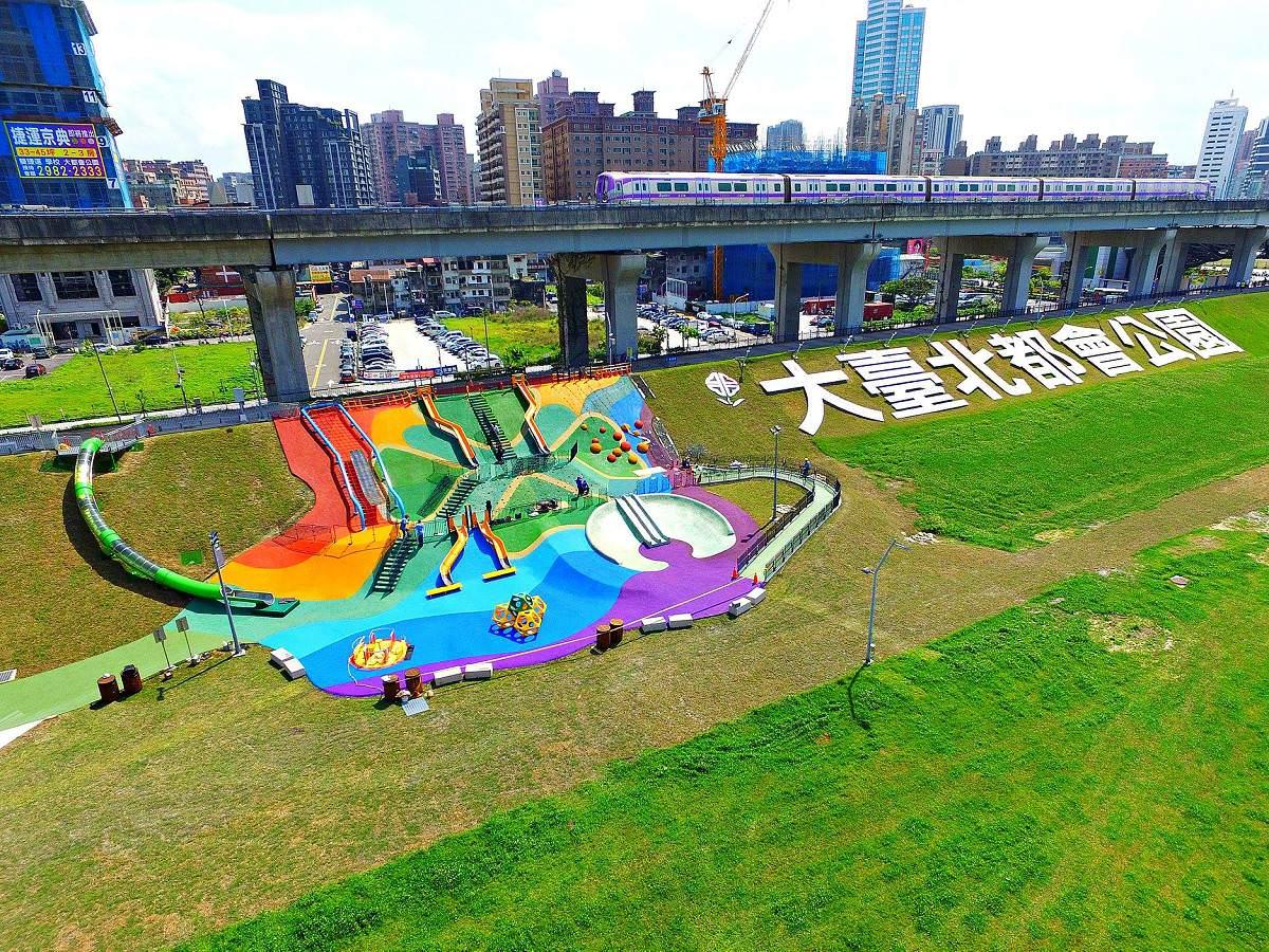 新北大都會公園(圖片來源:我的新北市FB)