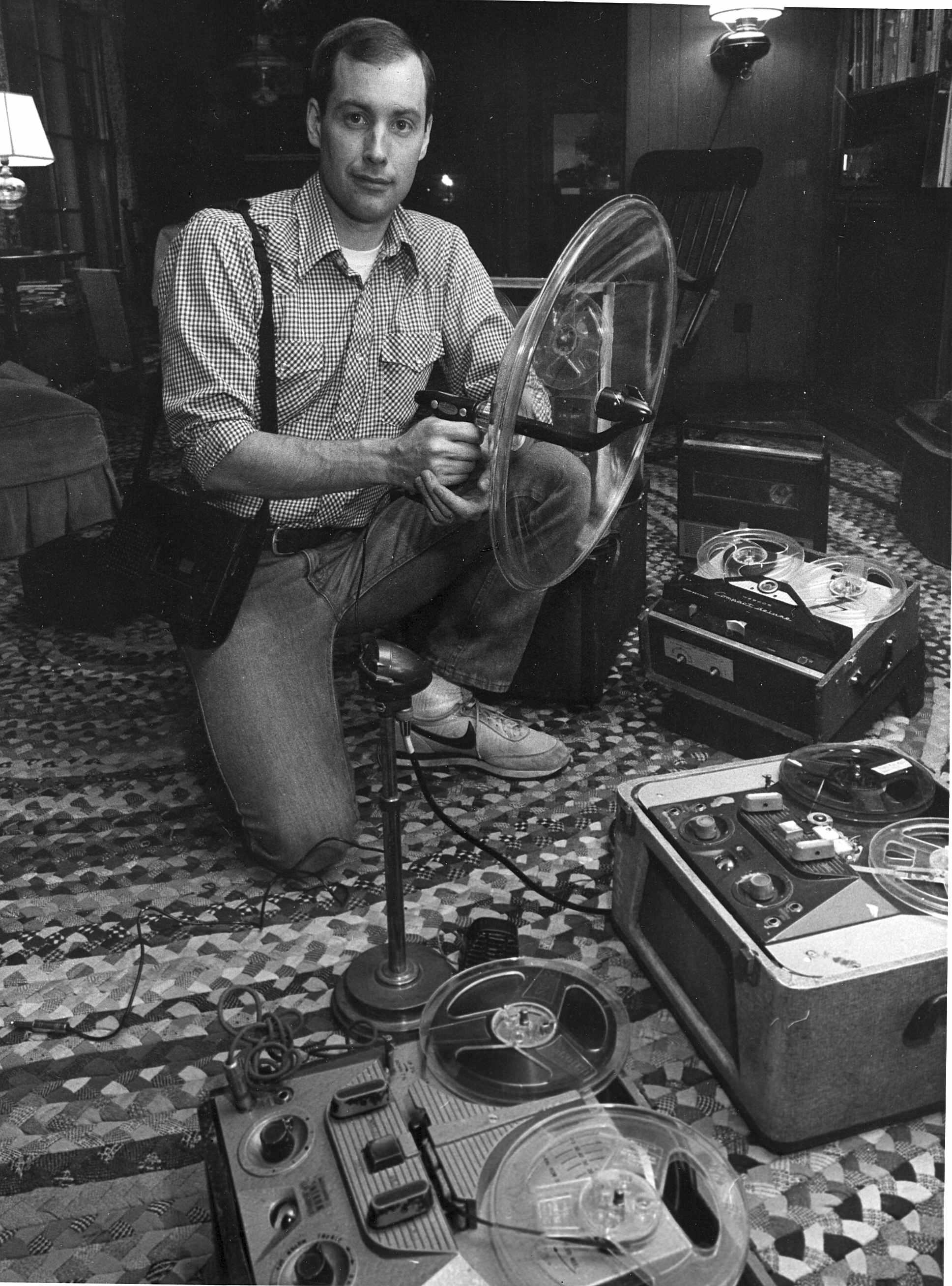 Ben Burtt & old recorders