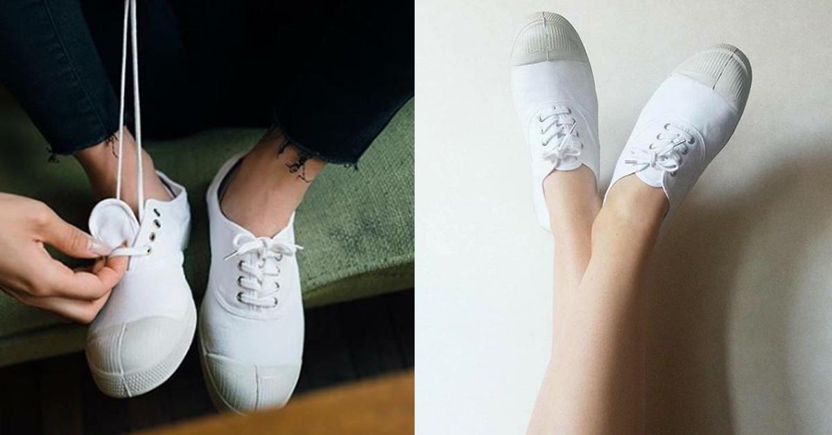 來自時尚之都法國,如同Converse在美國的地位般,Bensimon也是法國當地最經典的國民布鞋代表