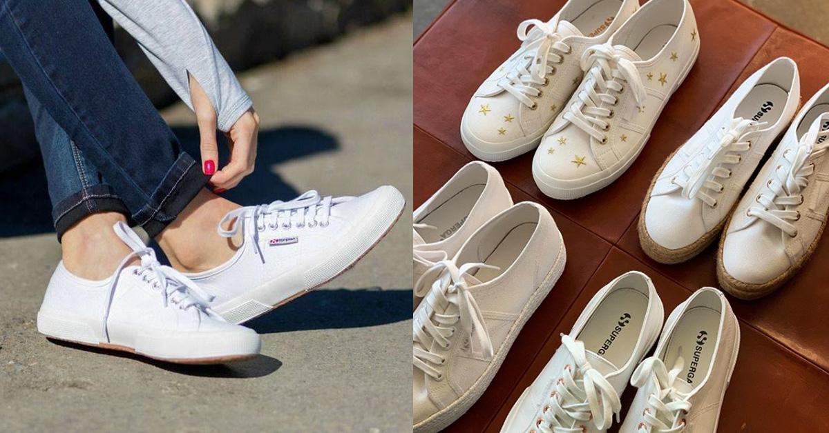 至今已有100年歷史以上的義大利國名帆布鞋牌Superga,可說是眾多小白鞋品牌中的開山元老之一!