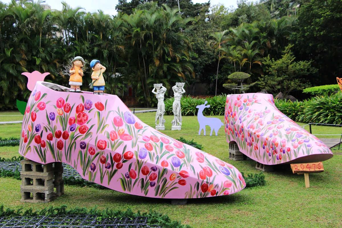 中式庭園區(圖片來源:士林官邸旅客FB)