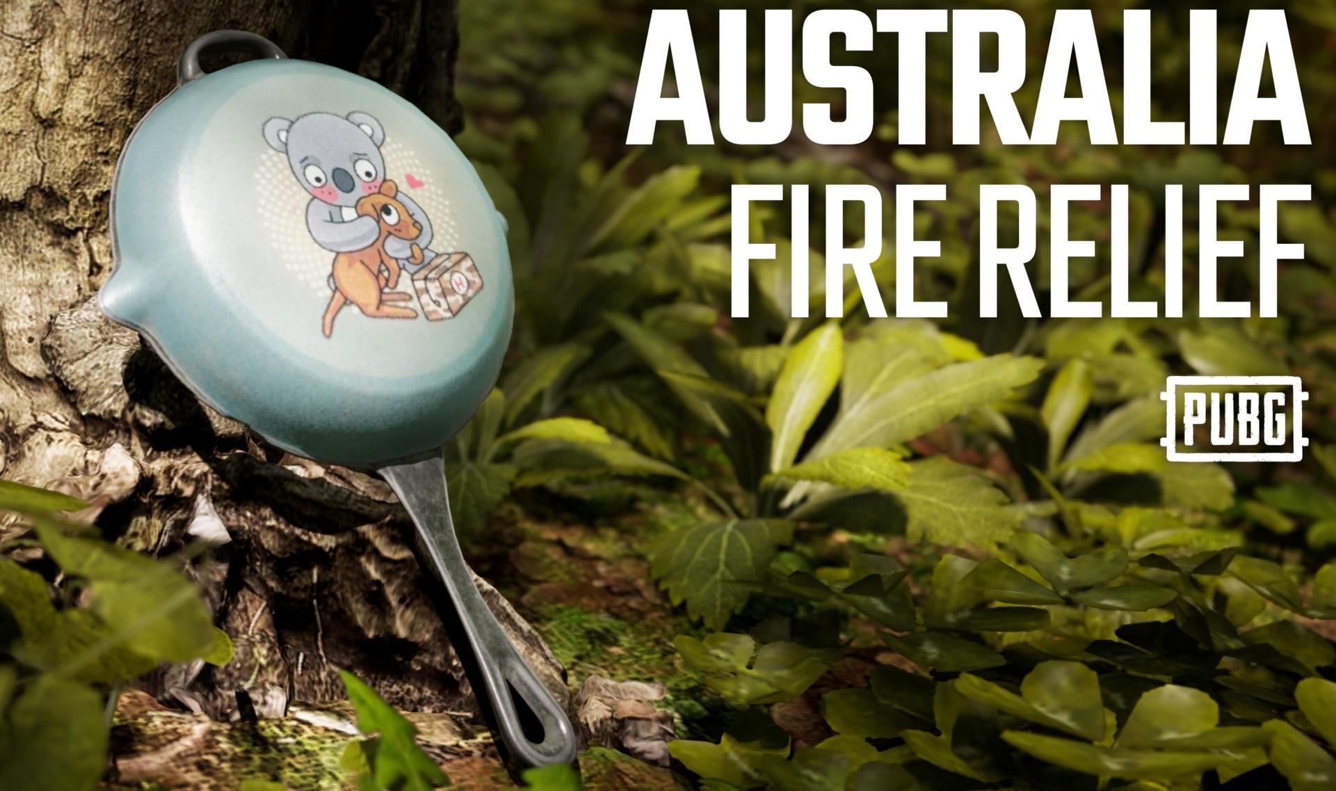《絕地求生》「澳洲火災援助基金平底鍋」遊戲造型