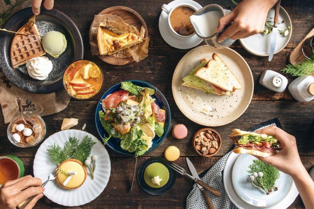 米朗琪咖啡館在台灣耕耘多年,除了黃金鬆餅,咖啡、蛋糕和輕食也表現不俗。