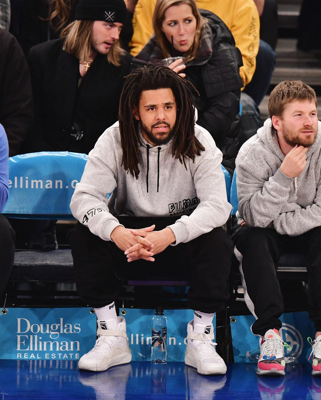J. Cole in Puma The Sky Dreamer  Sneaker  — PUMA