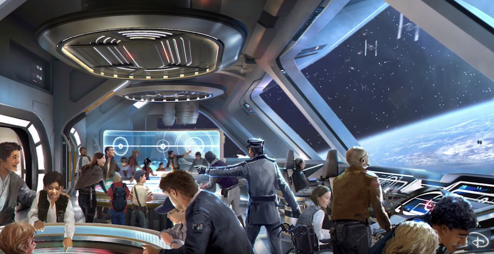 "The new ""Star Wars"": Galactic Starcruiser experience in Orlando is described as ""an immersive experience."" (Photo: Disney Parks via YouTube)"