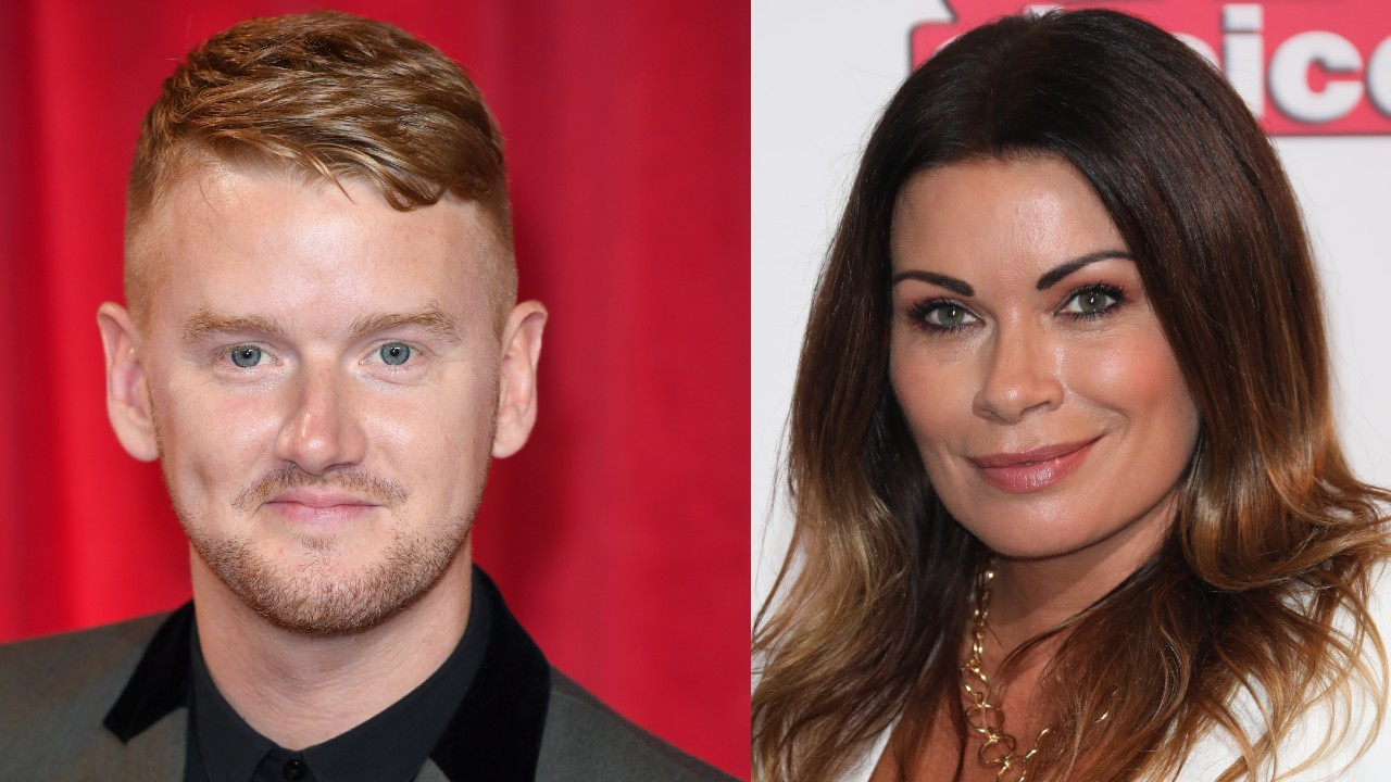 Mikey North and Alison King have denied the video shows them kissing (Getty Images)