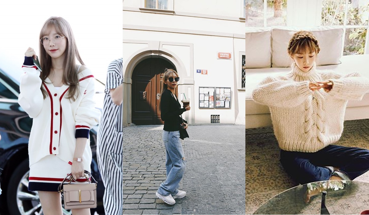 太妍平常的穿著帶有一點可愛的風格,並且以簡單、舒服為搭配原則