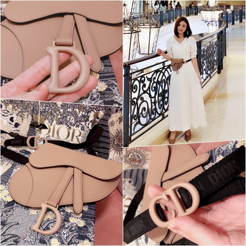 Diorsaddle belt bag