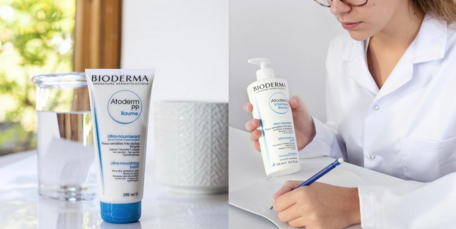 像是舒益PP修護滋養乳就適用於乾性/極乾性、敏弱、異位性皮膚炎,產品本身低致敏性、無香料、無致痘性、無Paraben類防腐劑