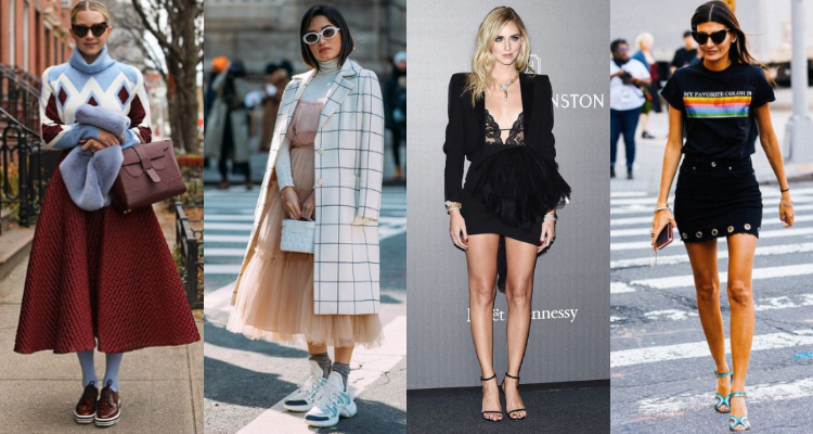 有O型腿困擾的女孩,不妨試著用紗質或鋪棉中高腰蓬裙欺騙大眾,把外擴的膝蓋和小腿遮住
