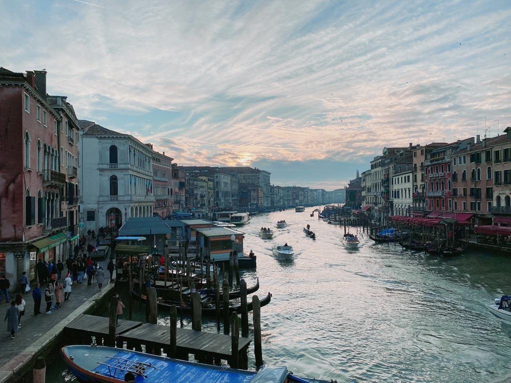 ▲水都王國威尼斯的景色,讓陳瑀希感到很浪漫。