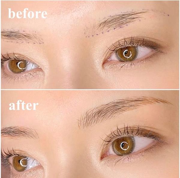 若眉毛本身就過度稀疏,則不適合用剔除法來調整毛流
