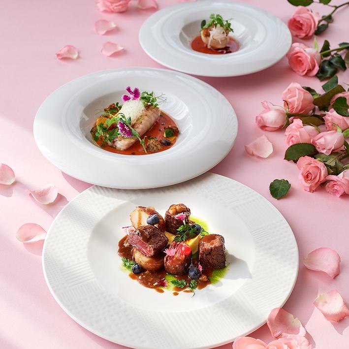 義籍主廚親自設計菜單,打造美味情人節套餐。