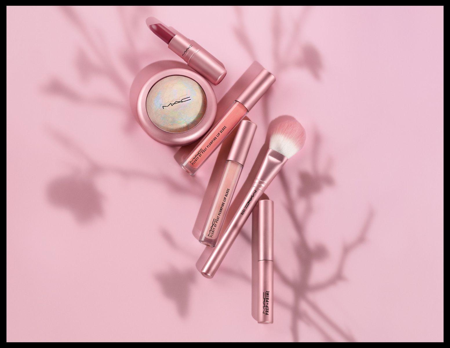 M·A·C在本月即將推出的「春櫻漫舞彩妝系列」