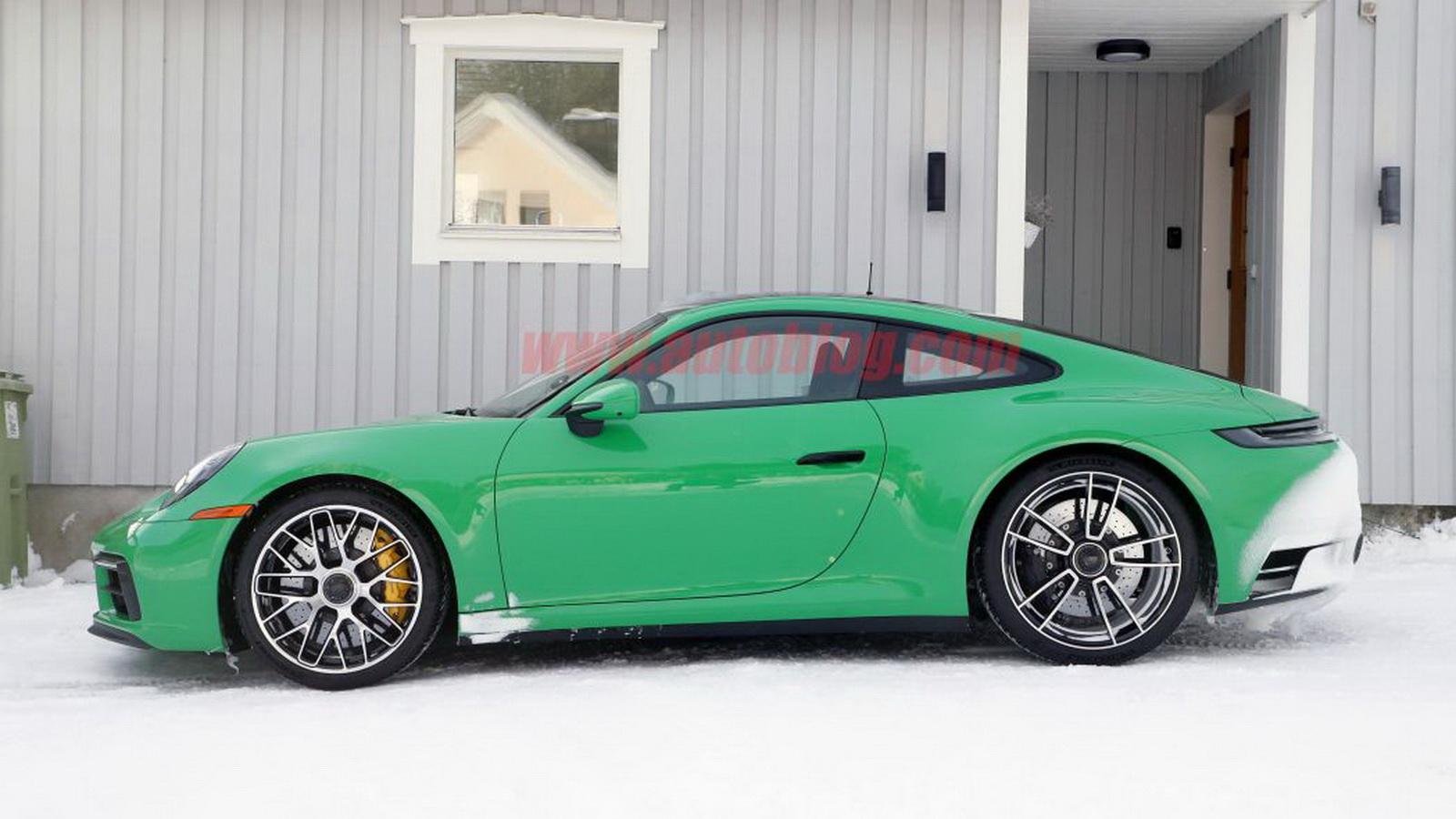 圖/Porsche 911 GTS車身線條比自家Carrera S更流線有型,光看外型就能感到滿滿動力。