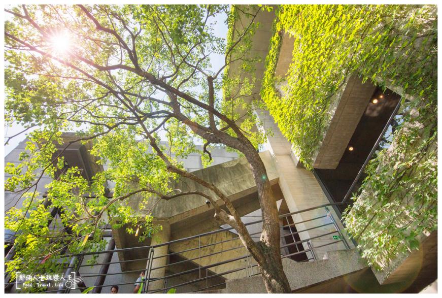 菩薩寺處處皆景,舉目可見素雅梁柱台階、翠綠樹木。圖/網友投稿-那倆人玩樂人生