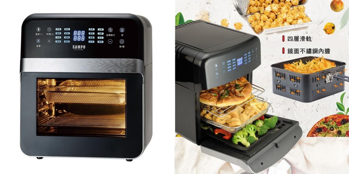 氣炸鍋的升級版,氣炸烤箱也是近期超人氣的廚房家電
