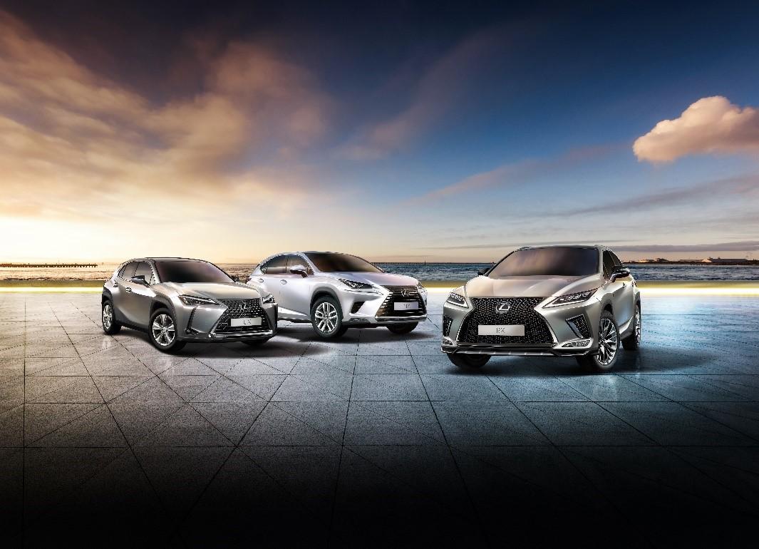 LEXUS RX、UX、NX車系廣受消費者喜愛 一舉成為豪華車銷售No.1品牌