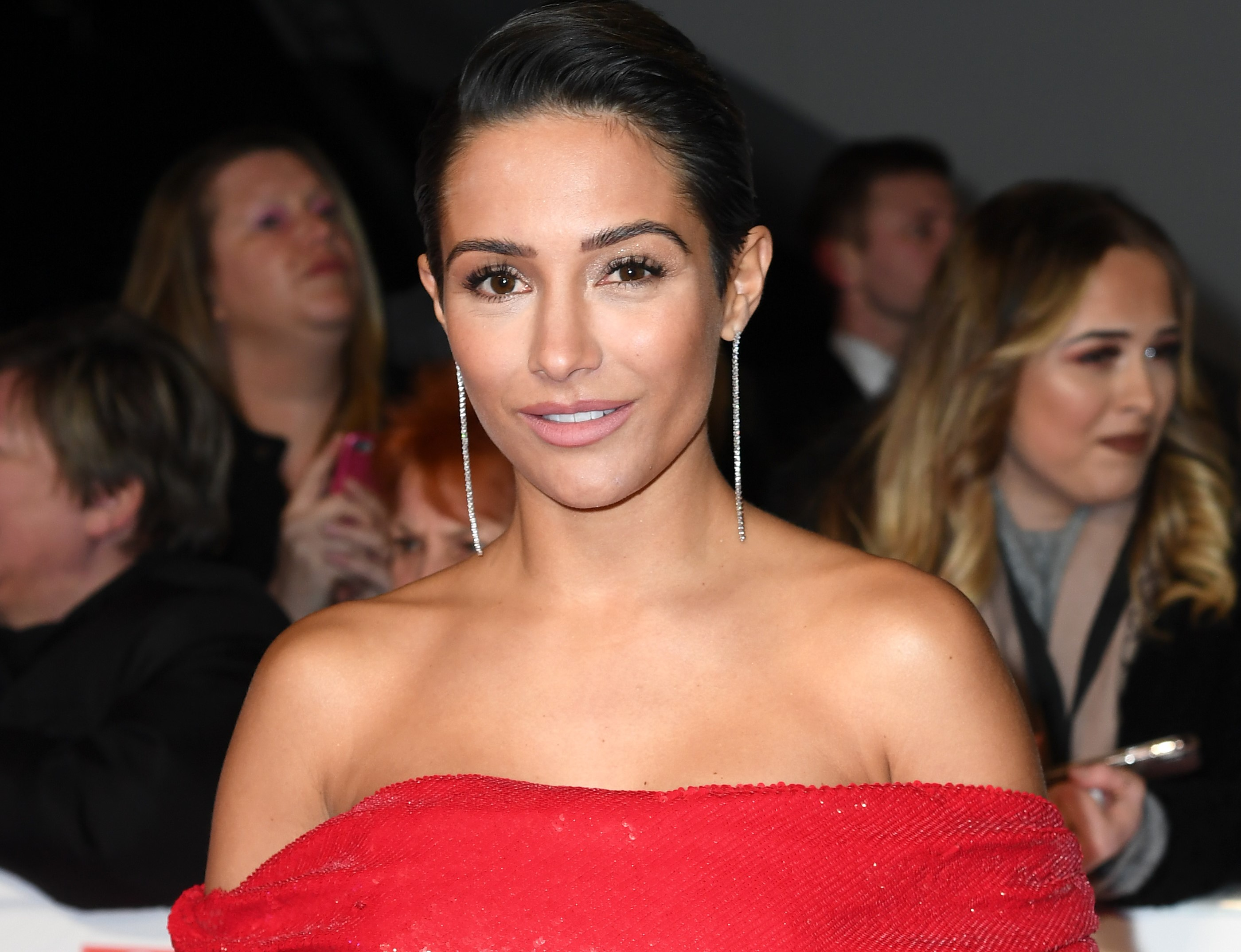Frankie Bridge wants to encourage others to ask for help (Getty Images)