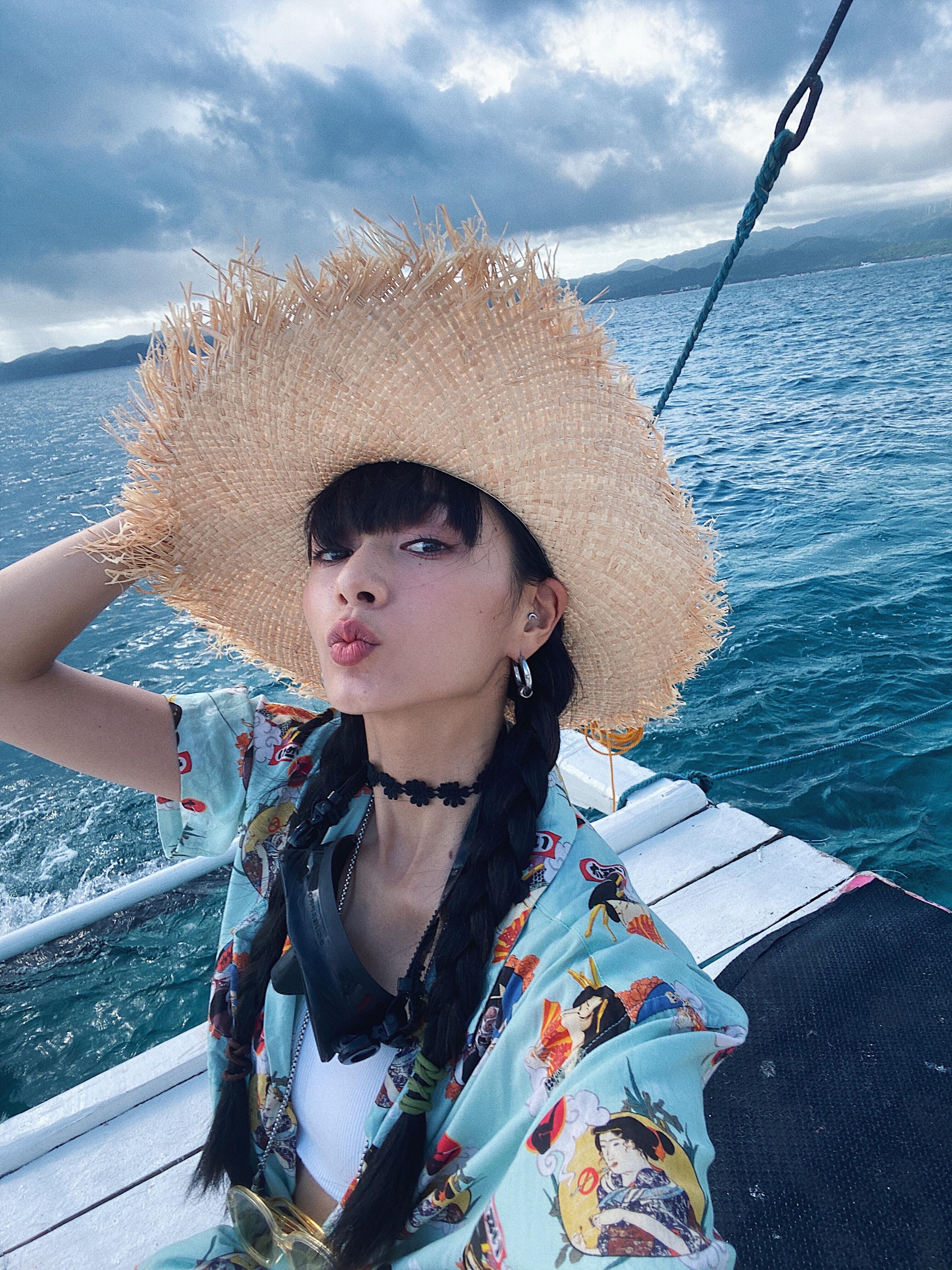 ▲因為這次長灘島旅遊,讓郭源元與工作夥伴留下共同回憶。