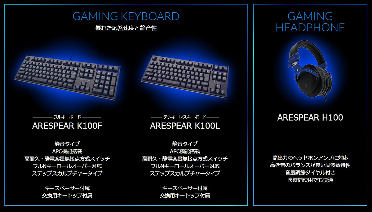 ARESPEAR Key&HP